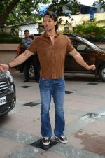 Tiger Shroff during the audio launch of Beat Pe Booty song from film A Flying Jatt at the Radio City Studios in Mumbai, India on August 3, 3016 (1)_57a1d4f6184e8.jpg