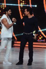 Tiger Shroff during the promotion of film A Flying Jatt on the sets of reality dance show Jhalak Dikhhla Jaa season 9 in Mumbai, India on August 2 2016 (119)_57a18bd7a3be2.JPG