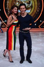 Tiger Shroff during the promotion of film A Flying Jatt on the sets of reality dance show Jhalak Dikhhla Jaa season 9 in Mumbai, India on August 2 2016 (151)_57a18be15daa4.JPG