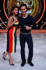 Tiger Shroff during the promotion of film A Flying Jatt on the sets of reality dance show Jhalak Dikhhla Jaa season 9 in Mumbai, India on August 2 2016 (152)_57a18be23333a.JPG
