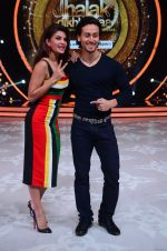 Tiger Shroff during the promotion of film A Flying Jatt on the sets of reality dance show Jhalak Dikhhla Jaa season 9 in Mumbai, India on August 2 2016 (153)_57a18aae238e1.JPG