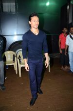 Tiger Shroff during the promotion of film A Flying Jatt on the sets of reality dance show Jhalak Dikhhla Jaa season 9 in Mumbai, India on August 2 2016 (2)_57a18bc712925.JPG