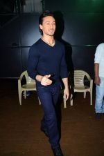 Tiger Shroff during the promotion of film A Flying Jatt on the sets of reality dance show Jhalak Dikhhla Jaa season 9 in Mumbai, India on August 2 2016