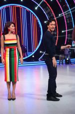Tiger Shroff, Jacqueline during the promotion of film A Flying Jatt on the sets of reality dance show Jhalak Dikhhla Jaa season 9 in Mumbai, India on August 2 2016 (36)_57a18aaf8ca28.JPG