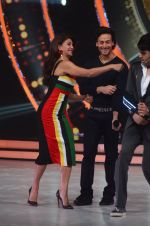 Tiger Shroff, Jacqueline during the promotion of film A Flying Jatt on the sets of reality dance show Jhalak Dikhhla Jaa season 9 in Mumbai, India on August 2 2016 (67)_57a18bf00b88a.JPG