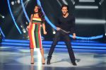 Tiger Shroff, Jacqueline during the promotion of film A Flying Jatt on the sets of reality dance show Jhalak Dikhhla Jaa season 9 in Mumbai, India on August 2 2016 (72)_57a18bf3095ce.JPG
