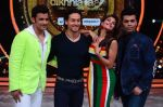 Tiger Shroff, Jacqueline, Karan, Ganesh promotion of film A Flying Jatt on the sets of reality dance show Jhalak Dikhhla Jaa season 9 in Mumbai, India on August 2 2016 (150)_57a18b916748e.JPG