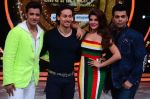 Tiger Shroff, Jacqueline, Karan, Ganesh promotion of film A Flying Jatt on the sets of reality dance show Jhalak Dikhhla Jaa season 9 in Mumbai, India on August 2 2016 (157)_57a18ab85a4ad.JPG