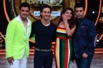 Tiger Shroff, Jacqueline, Karan, Ganesh promotion of film A Flying Jatt on the sets of reality dance show Jhalak Dikhhla Jaa season 9 in Mumbai, India on August 2 2016 (151)_57a18bfb90b85.JPG