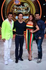 Tiger Shroff, Jacqueline, Karan, Ganesh promotion of film A Flying Jatt on the sets of reality dance show Jhalak Dikhhla Jaa season 9 in Mumbai, India on August 2 2016 (156)_57a18bf669d5a.JPG