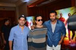 John Abraham, Sajid Nadiadwala, Rohit Dhawan at Dishoom Movie Press Meet on 3rd August 2016 (19)_57a2e94eec928.JPG