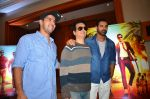 John Abraham, Sajid Nadiadwala, Rohit Dhawan at Dishoom Movie Press Meet on 3rd August 2016 (21)_57a2ea66ce576.JPG