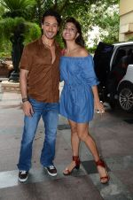 Tiger Shroff and Jacqueline Fernandez at Flying Jatt song launch at Radio City in Mumbai on August 3, 3016 (71)_57a2e42fc7552.JPG