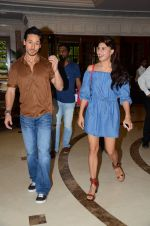 Tiger Shroff and Jacqueline Fernandez at Flying Jatt song launch at Radio City in Mumbai on August 3, 3016 (74)_57a2e46f4ca68.JPG