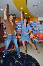 Tiger Shroff and Jacqueline Fernandez at Flying Jatt song launch at Radio City in Mumbai on August 3, 3016 (79)_57a2e434722d4.JPG