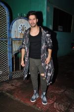 Varun Dhawan with Dream Team cast snapped post rehearsals on 3rd Aug 2016 (18)_57a2c32a4466b.JPG