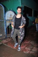 Varun Dhawan with Dream Team cast snapped post rehearsals on 3rd Aug 2016 (19)_57a2c32c6bbdd.JPG