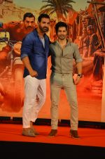 Varun Dhawan, John Abraham at Dishoom Movie Press Meet on 3rd August 2016 (78)_57a2e8ae9e5b0.JPG
