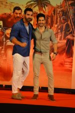 Varun Dhawan, John Abraham at Dishoom Movie Press Meet on 3rd August 2016 (80)_57a2e8afa1177.JPG