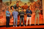 Varun Dhawan, John Abraham, Sajid Nadiadwala, Rohit Dhawan at Dishoom Movie Press Meet on 3rd August 2016