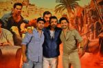 Varun Dhawan, John Abraham,Rohit Dhawan at Dishoom Movie Press Meet on 3rd August 2016