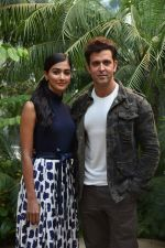 Hrithik Roshan, Pooja Hegde promote Mohenjo Daro in Delhi on 4th Aug 2016