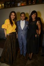 Madhoo Shah, Sanjay Kapoor and Manasi Scott At The Coach Launch Celebrations
