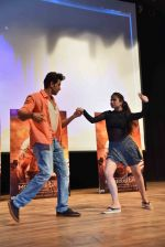 Hrithik Roshan at Mohenjo Daro promotions in Gargi college on 5th Aug 2016