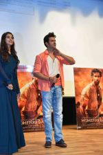 Hrithik Roshan, Pooja Hegde at Mohenjo Daro promotions in Gargi college on 5th Aug 2016 (23)_57a567cfdf901.jpg