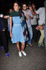 Pooja Hegde snapped at airport on 5th Aug 2016