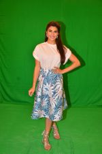 Jacqueline Fernandez snapped in Mumbai to promote The Flying Jatt on 6th Aug 2016
