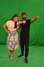 Remo D Souza, Jacqueline Fernandez snapped in Mumbai to promote The Flying Jatt on 6th Aug 2016