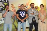 Salman Khan, Amy Jackson, Sohail Khan, Jas Arora, Amy Jackson at Freaky Ali trailer launch on 7th Aug 2016 (36)_57a76e8ad464e.JPG