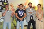 Salman Khan, Amy Jackson, Sohail Khan, Jas Arora, Amy Jackson at Freaky Ali trailer launch on 7th Aug 2016