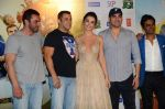 Salman Khan, Amy Jackson, Sohail Khan, Nawazuddin Siddiqui, Arbaaz Khan at Freaky Ali trailer launch on 7th Aug 2016