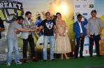 Salman Khan, Amy Jackson, Sohail Khan, Nawazuddin Siddiqui, Jas Arora, Nikitin Dheer, Arbaaz Khan at Freaky Ali trailer launch on 7th Aug 2016