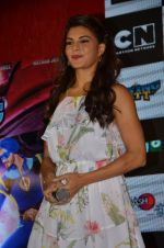 Jacqueline Fernandez promote The Flying Jatt at Smaash on 8th Aug 2016 (24)_57a8c3c6273ec.JPG