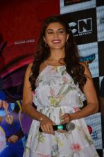 Jacqueline Fernandez promote The Flying Jatt at Smaash on 8th Aug 2016 (25)_57a8c3c6f035e.JPG