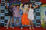 Tiger Shroff, Jacqueline Fernandez, Remo D Souza promote The Flying Jatt at Smaash on 8th Aug 2016 (26)_57a8c45945fc1.JPG