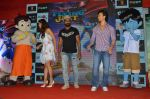 Tiger Shroff, Jacqueline Fernandez, Remo D Souza promote The Flying Jatt at Smaash on 8th Aug 2016 (52)_57a8c48546271.JPG