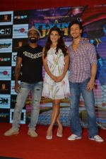 Tiger Shroff, Jacqueline Fernandez, Remo D Souza promote The Flying Jatt at Smaash on 8th Aug 2016 (66)_57a8c3ed32a29.JPG