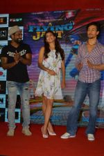 Tiger Shroff, Jacqueline Fernandez, Remo D Souza promote The Flying Jatt at Smaash on 8th Aug 2016 (68)_57a8c461deefe.JPG