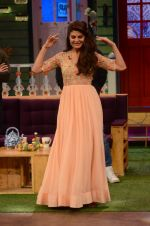 Jacqueline Fernandez promote The Flying Jatt on the sets of The Kapil Sharma Show on 8th Aug 2016 (37)_57a94e3c06bd3.JPG