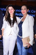 Kainaat Arora and Preeti Jhangiani at 5th TIIFA Award Announcent Ceremony in J W Marriott, Juhu on 9th Aug 2016
