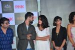 Kirti Kulhari, Andrea Tariang, Amitabh Bachchan, Taapsee Pannu and Angad Bedi, Piyush Mishra at Pink trailer launch in Mumbai on 9th Aug 2016 (115)_57a9e7a6762cb.JPG