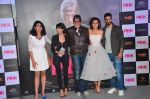 Kirti Kulhari, Andrea Tariang, Amitabh Bachchan, Taapsee Pannu and Angad Bedi, Piyush Mishra at Pink trailer launch in Mumbai on 9th Aug 2016 (132)_57a9e96701599.JPG