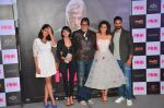 Kirti Kulhari, Andrea Tariang, Amitabh Bachchan, Taapsee Pannu and Angad Bedi, Piyush Mishra at Pink trailer launch in Mumbai on 9th Aug 2016