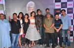 Kirti Kulhari, Andrea Tariang, Amitabh Bachchan, Taapsee Pannu, Shoojit Sircar, Angad Bedi, Piyush Mishra, Aniruddha Roy Chowdhury at Pink trailer launch in Mumbai on 9th Aug 2016