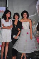 Kirti Kulhari, Andrea Tariang, Taapsee Pannu at Pink trailer launch in Mumbai on 9th Aug 2016