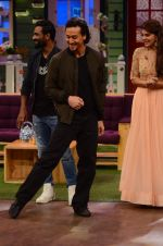 Tiger Shroff promote The Flying Jatt on the sets of The Kapil Sharma Show on 8th Aug 2016